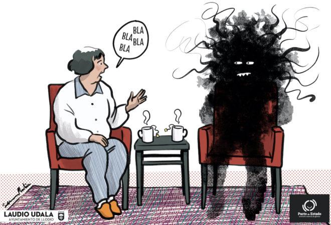 """""""Perla feministak"""" kanpaina: Lehenengo bineta"""
